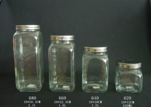 Any Size Small Mini and Large Mason Canning Glass Jar with Lids pictures & photos