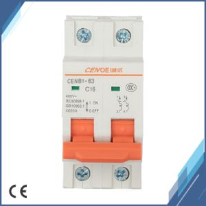 16A 415VAC Mini Circuit Breaker 2p for Office Building and Residential pictures & photos
