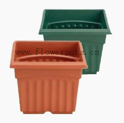 Square Plastic Flower Pot (KD4001-KD4004) pictures & photos