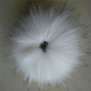 Make Your Own Faux Raccoon Fur POM Poms for Hat pictures & photos