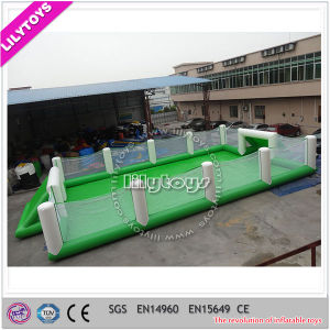 Hot Sale Inflatable Soap Football Field