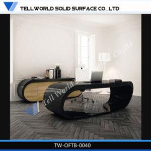 Modern Office Desks Goggle Desk Black pictures & photos