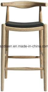 Solid Wooden Barstool (DS-C143B) pictures & photos