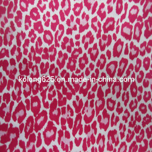 Printed Satin/Printed Satin Fabric/Leopard Printed Satin (SKS-44054)