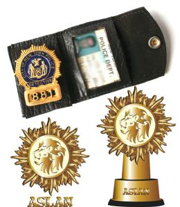 Police Badge with Gold Plated 3D Badge (GZHY-BADGE-016) pictures & photos