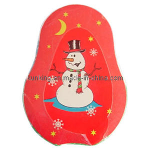 Snowman Shaped Compressed Towel