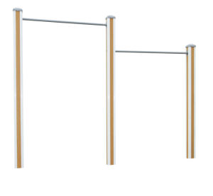 Park Fitness Equipment Uneven Bars pictures & photos