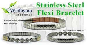 Stainless Steel Flexi Magnetic Bracelet