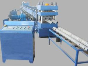 High Speed Crash Barrier Roll Forming Machine