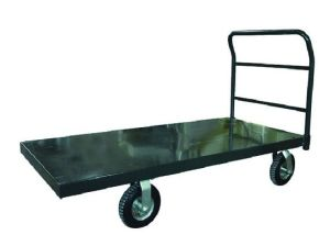 High-Loading Platform Truck with pneumatic tires pictures & photos