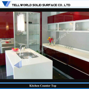 2017 Fancy Design Artificial Marble Antiseep Kitchen Counter Vanity Top pictures & photos