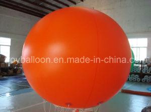 Plain Orange Inflatable Balloon