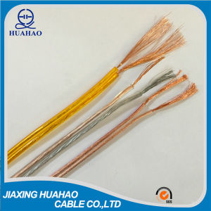 2X1.0mm2; 2X1.5mm2; 2X2.0mm2; 2X2.5mm2; Parallel Twin Flat Wire/Speaker Cable pictures & photos