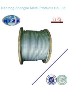 Electro Galvanized Steel Wire Rope with High Quality Sale From Made in China 6*31fi+FC pictures & photos