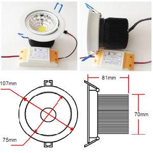 12W COB LED Ceiling Light (PR-DLCOB12W-CW)