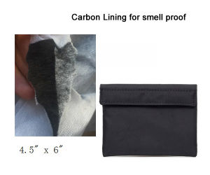 Small Smell Odor Proof Pocket with Carbon Lining pictures & photos