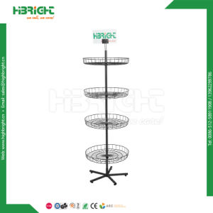 Metal Wire Spinner Display Rack for Hanging Items pictures & photos