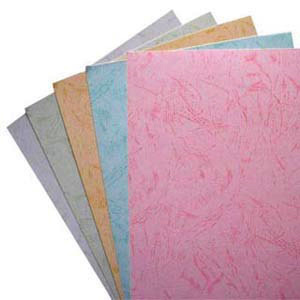 Embossed / Leather Grain Paper Binding Cover, Paper Cover