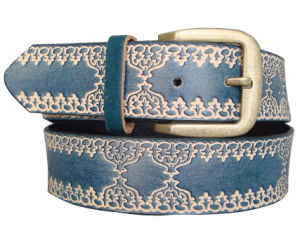 Lady Embossed Fashion PU Belt Ky1631 pictures & photos