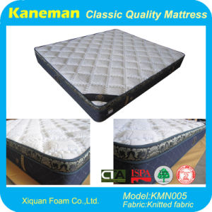 5 Star Hotel Bedroom Room Furniture Spring Mattress (KMN005) pictures & photos