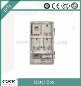 PC-1601 Single Phase Sixteen Meter Box (with main control box) / Single Phase Sixteen Meter Box (with main control box card) pictures & photos