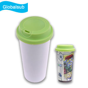 Polymer Plastic Water Bottle Blank Sublimated Eco-Tumbler pictures & photos