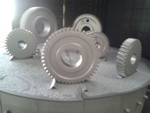 Rotary Table Shot Blasting Machine pictures & photos