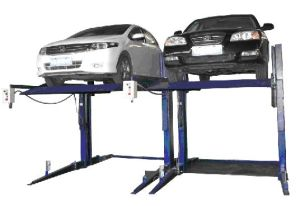 Two Post Parking Lift Car Stacker