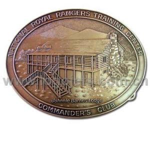 Copper Zinc Alloy Pewter Iron Belt Buckles (LJ003)