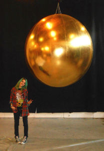 Giant Inflatable Golden Ball for Party Decoration pictures & photos