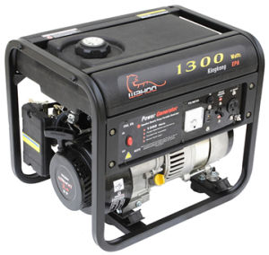 Plastic Fuel Tank 1kw Gasoline Generator (WK1300) pictures & photos