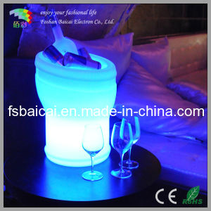 LED Champagne Cooler/LED Ice Bucket