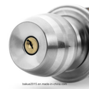 High Security Ball Bed/Bath Door Knob in Satin Stainless (DcRaS0002-SS-SS) pictures & photos