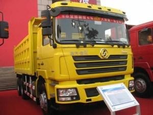 380HP 40t Shacman Dump Truck