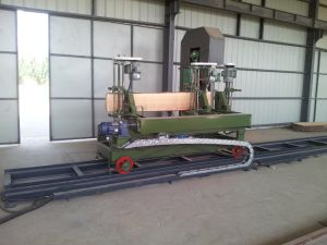 Wood Horizontal Band Saw Mills/Forest Machinery! Portable Horizontal Band Wood Timber pictures & photos