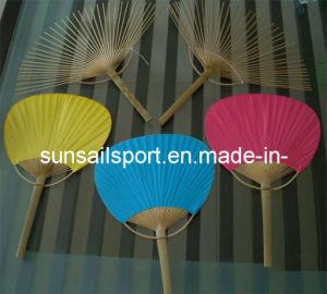 Bamboo Hand Fan Paddle Paper Fan