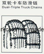 Stud off Road Truck Dual and Triple Tire Traction Chain for Truck pictures & photos
