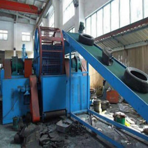 Zps900 Waste Tyre Shredder / Tyre Recycling Plant / Used Tire Recycling Machine pictures & photos