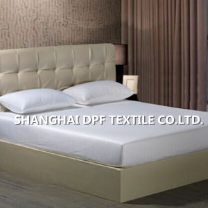 Soft 100% Cotton Satin Fitted Sheet pictures & photos