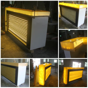 Modern Nightclub Luxury Bar Counters with LED pictures & photos