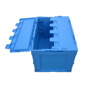 530 Series Folding Carton Collapsible Box with Lid pictures & photos