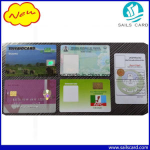 Preprinting Cmyk Plastic PVC Security Hologram Card pictures & photos