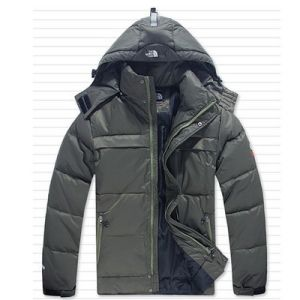 Grey Down Jacket, Winter Clothes for Men, pictures & photos