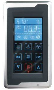 Touch Screen Controller Steam Generator