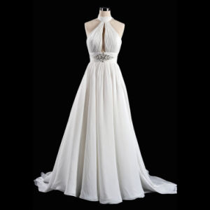 a-Line Beach Wedding Dress (Ogt3016m)