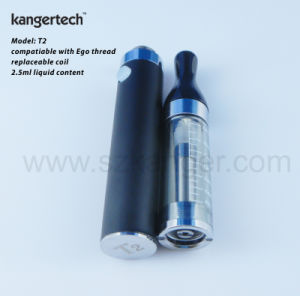 Kanger T2 Vaporizer with Colorful Tube Innovation Cartomizer pictures & photos