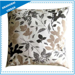 Vintage Leafs Printed Polyester Throw Pillow pictures & photos
