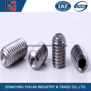 Stainless Steel DIN916-Hexagon Socket Set Screws with Cup Point pictures & photos