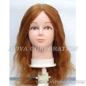 Human Hair Training Head (AV-TH010) pictures & photos