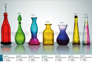Colored Bottle / Colored Glass Bottle / Colored Glass Jar (20ml~2500ml)) pictures & photos